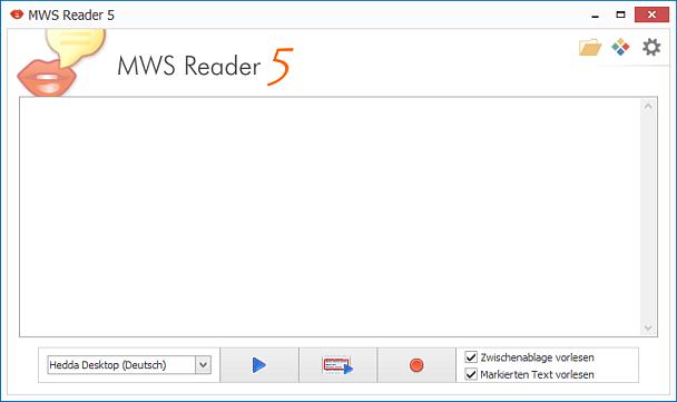 Text to Speech deutsch online, kostenlos ausprobieren mit dem MWS Reader 5 – Live Demo