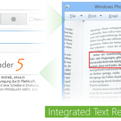 Integrated Text Recognition (OCR)